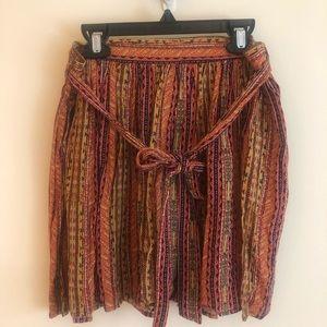 Dresses & Skirts - Skater flirty boho skirt